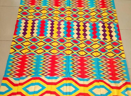 Kente Cloth: The Traditional Patterns of West Africa