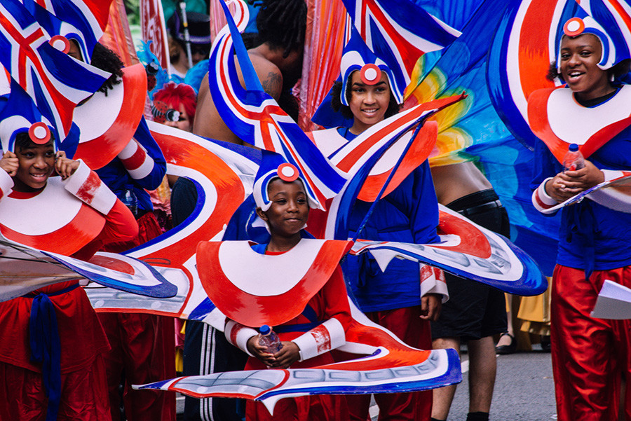 London and UK Flag Costumes Carnival