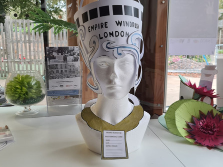 How to make a Windrush themed headdress and collar