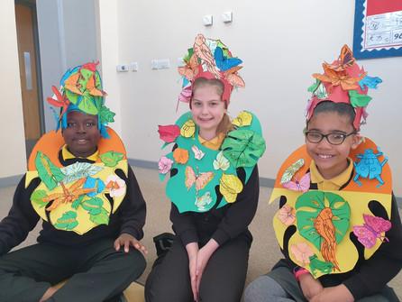 Make Easy Rainforest Carnival Costumes