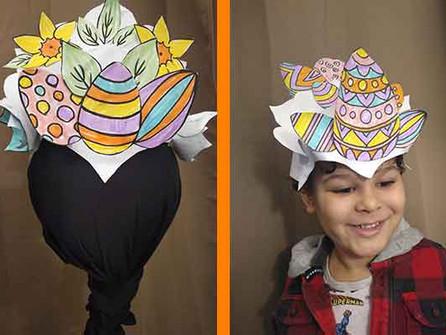 Easter Bonnets - Carnival Style!