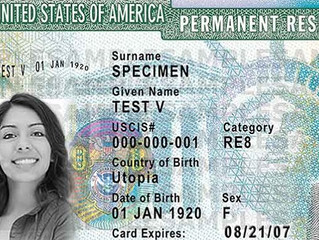 Does an expired green card mean I lost my legal status in the U.S.?
