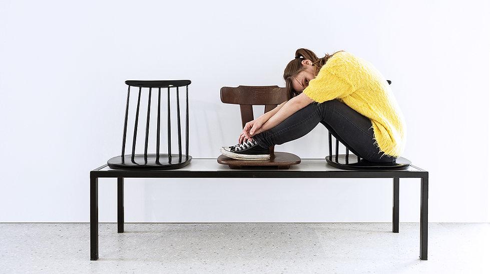Trash Design RCERO čakalnica klop stoli reciklaža, upcycling