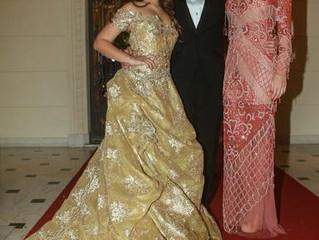 Kamilly Zor com Vestido de Debutante Geraldo Couto