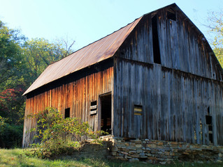 Requiem for a barn