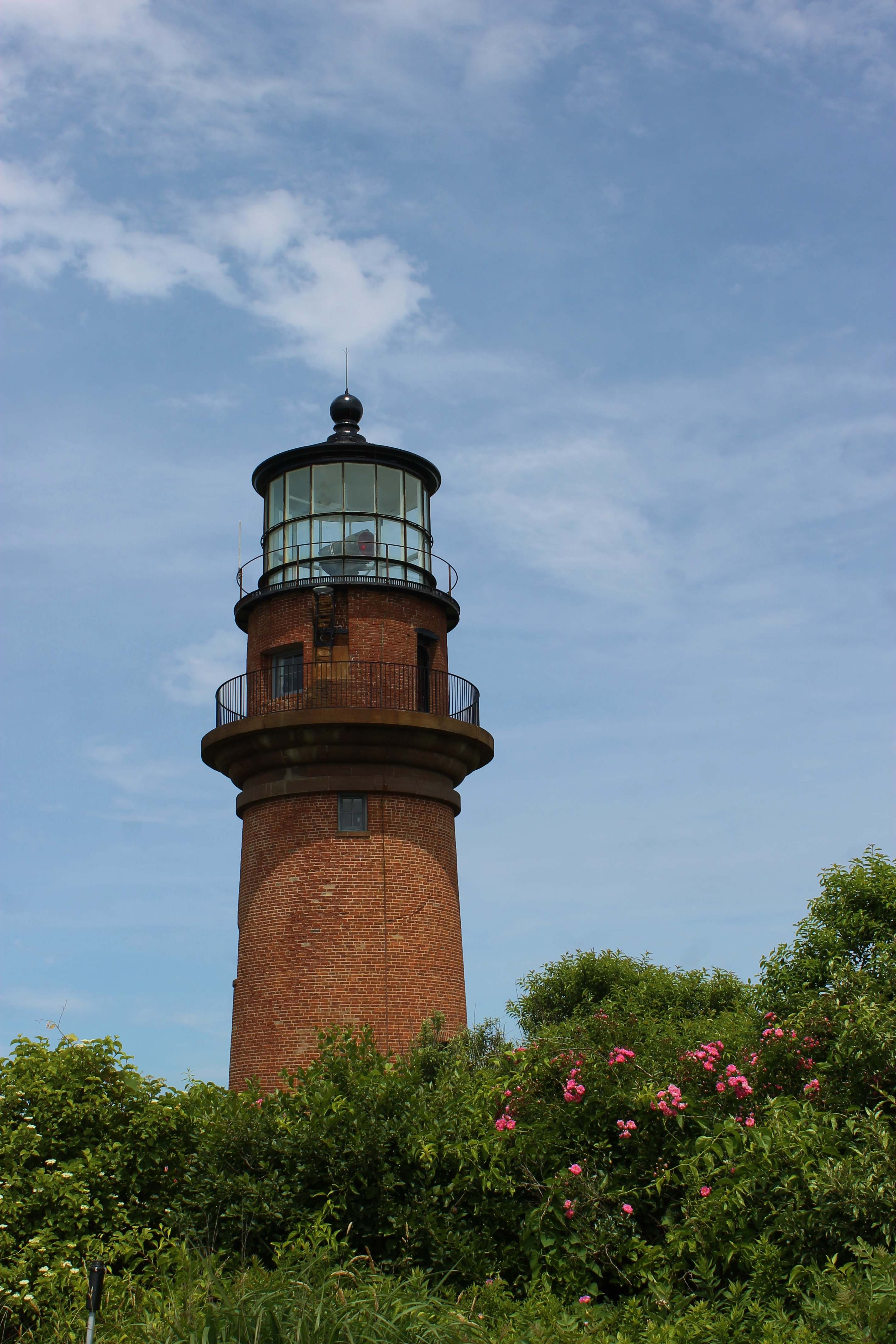 Gay Head Light with Roses