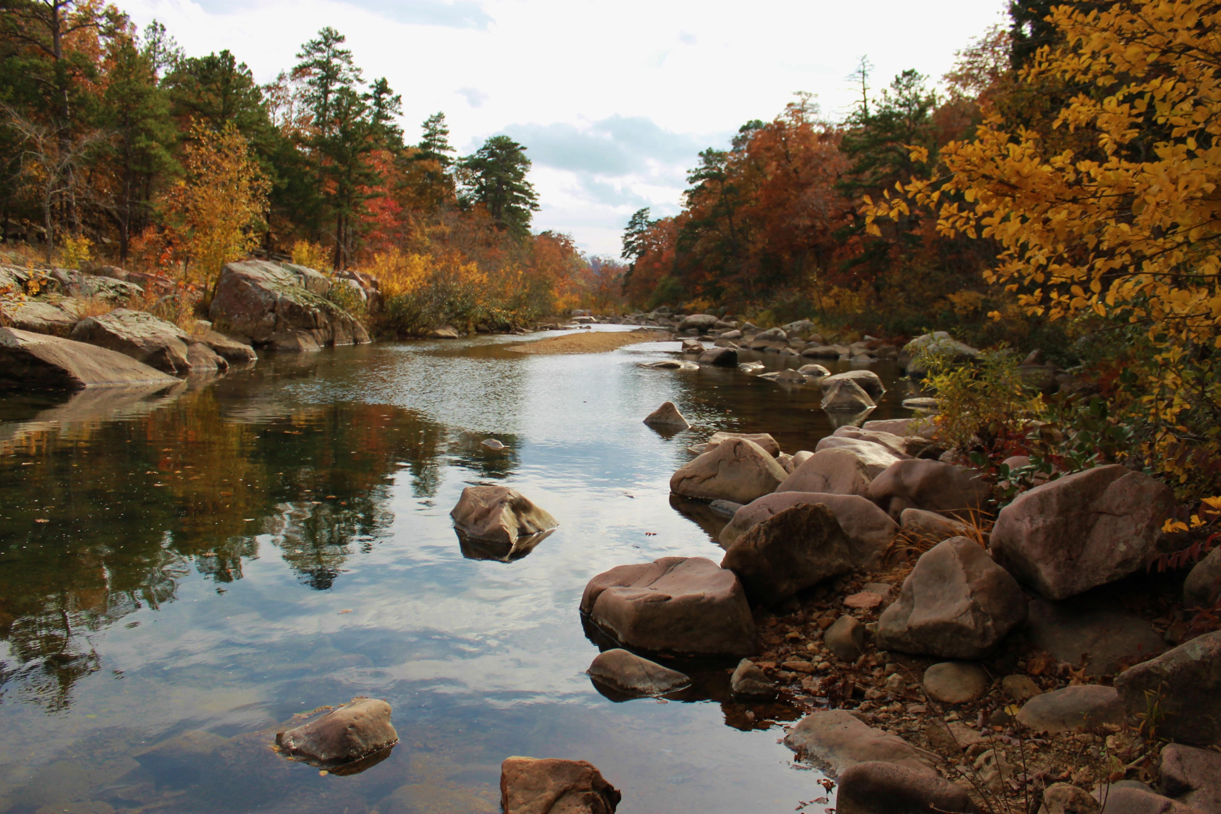 Autumn on the Castor River