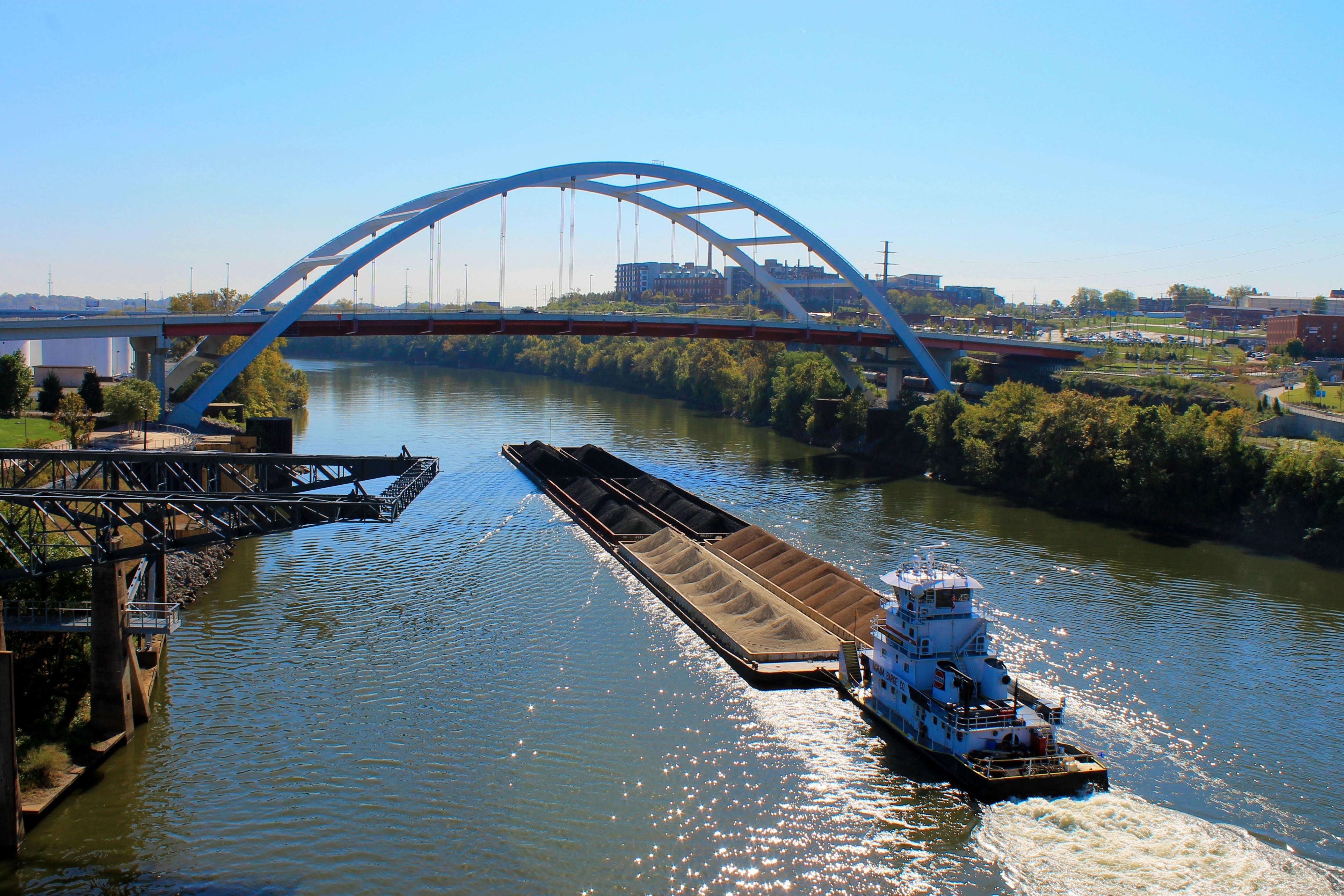 Coal Barge on the Cumberland