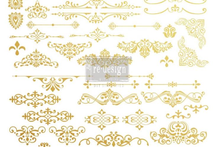 Gilded Ornate Flourishes