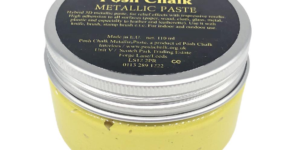 Yellow Canary - Smooth Metallic Pastes