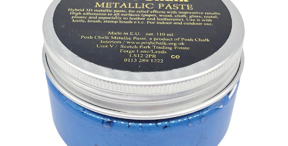 Blue Fhthalo - Smooth Metallic Pastes