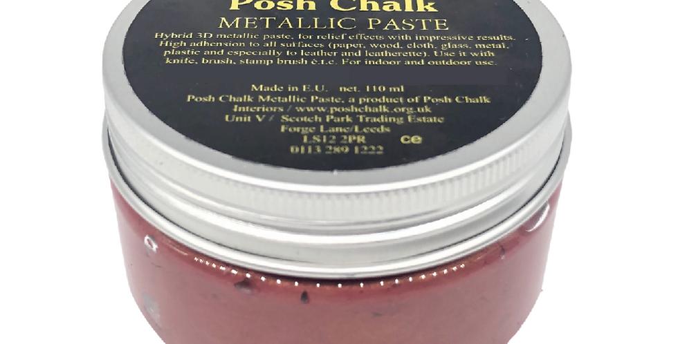 Red Alizarin - Smooth Metallic Pastes