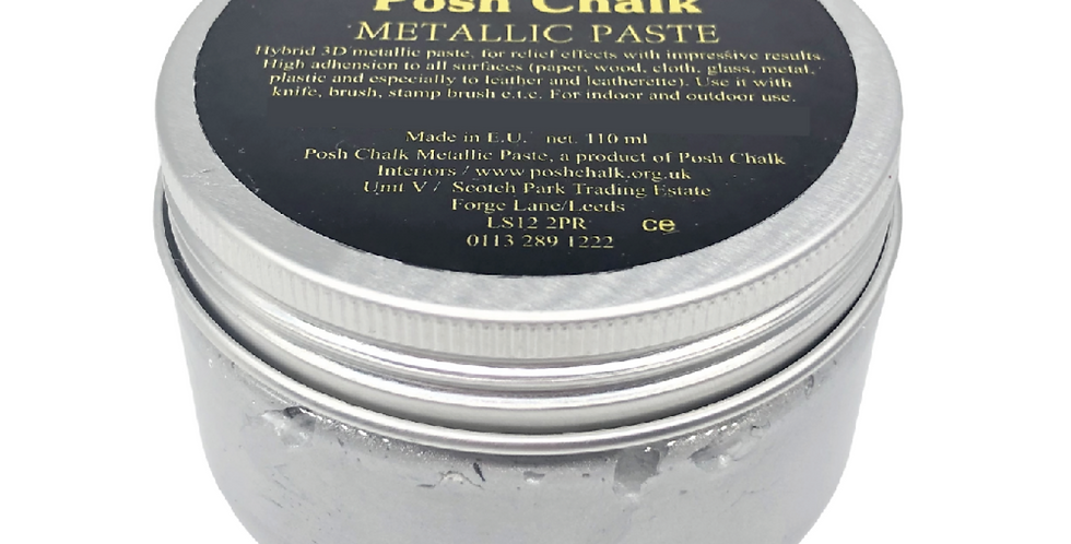 Pearl Silver - Smooth Metallic Pastes