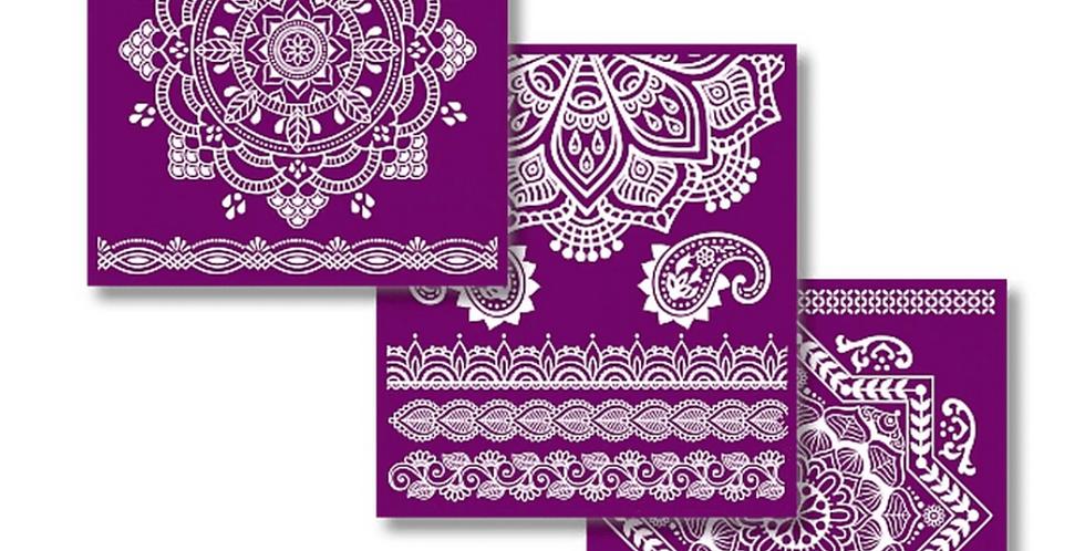 """Mandala - Silk Screen Stencils - 8"""" X 10"""""""