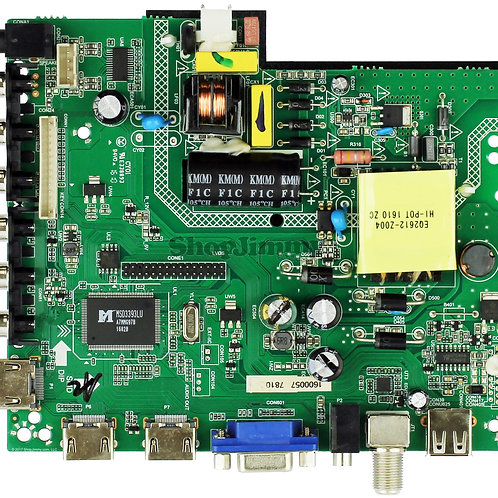 Proscan Main Board / Power Supply for PLDED3996A-E (A1602 SERIAL-SEE NOTE)