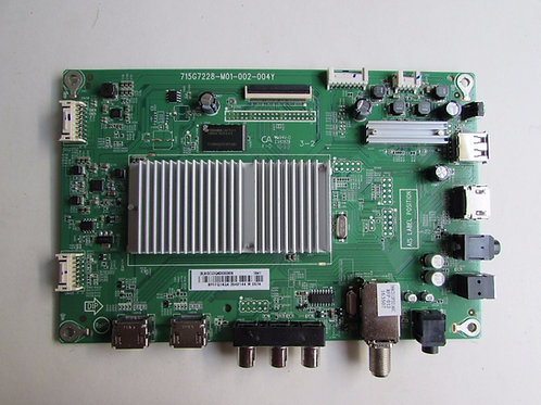 Sharp 756TXGCC0QK0030 Main Board for LC-43LB481U