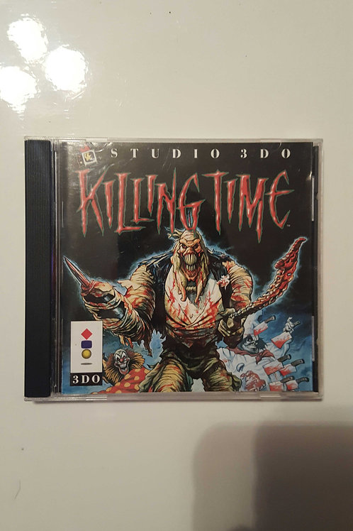 Killing Time (3DO, 1995) rare video game complete FPS horror