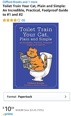 Toilet Train Your Cat, Plain and Simple.