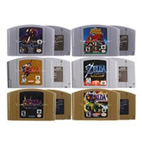 64 Bits Video Game Cartridge Games Console Card  Zeld Series English