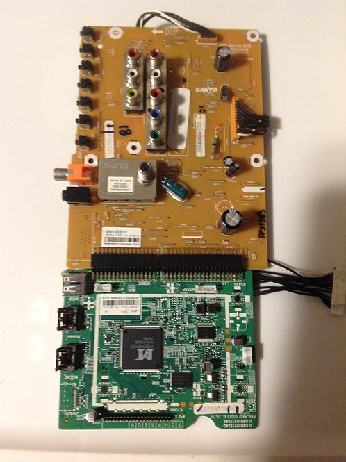 SANYO 1LG0B010Y101C0 AND 1LG4B10Y112A MAINBOARD AND ANALOG BOARD