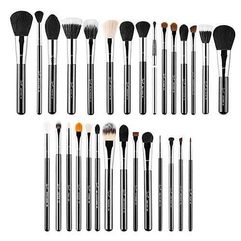 Sigma Beauty Extravaganza  29 Piece Brush Kit - Chrome