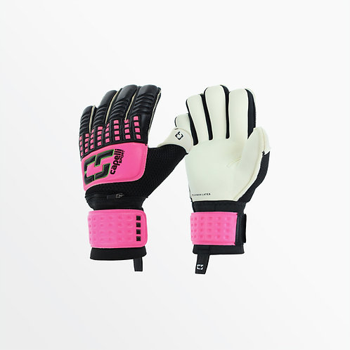 YOUTH 4-CUBE COMPETITION ELITE - GOALKEEPER GLOVES W/ FINGER PROTECTION