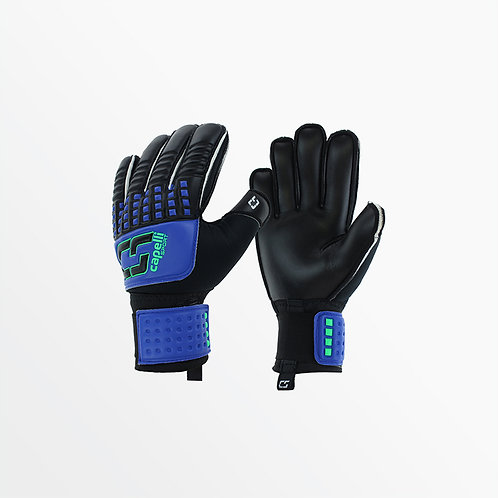 YOUTH 4-CUBE TEAM II W/ FINGER PROTECTION - GOALKEEPER GLOVES