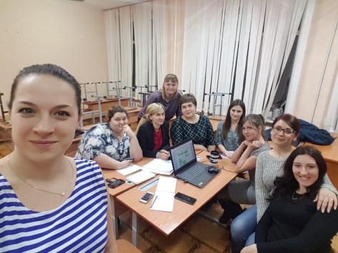 Новости от Новоселовской первички!!!