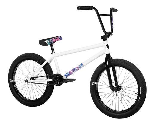 "BMX Велосипед Subrosa Novus Mark Burnett 20"" 2020 (белый)"