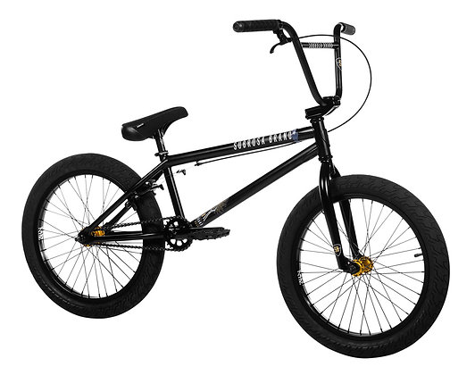 """BMX Велосипед Subrosa Sono 20"""" 2020 (черный / золотой)"""