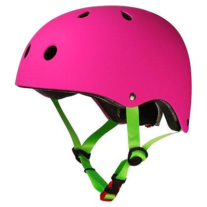 Шлем Los Raketos BAMBINO Neon Pink