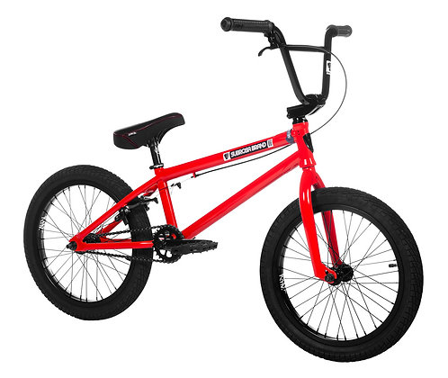 """BMX Велосипед Subrosa Tiro 18"""" 2020 (красный)"""