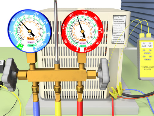 R-22 and R-410A Operating Pressures, Charging and Recovery Setup!