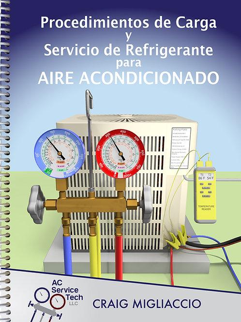 Libro-Procedimientos de Carga y Servicio de Refrigerante para Aire Acondicionado