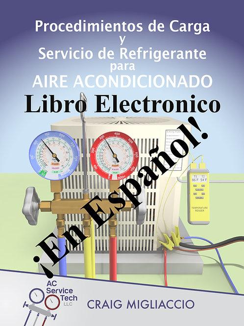 EBook-Procedimientos de Carga y Servicio de Refrigerante para Aire Acondicionado