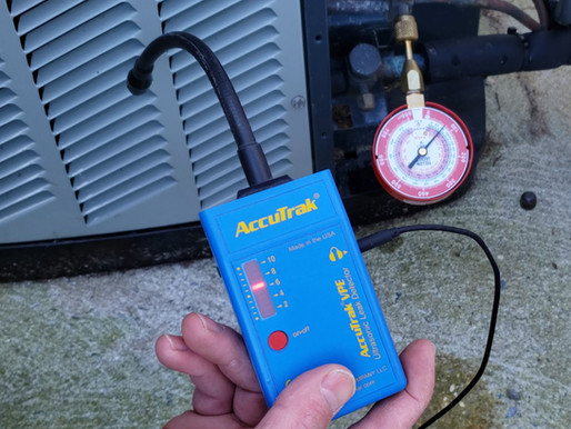 The Benefits of Using an Ultrasonic Leak Detector to Find Refrigerant Leaks!