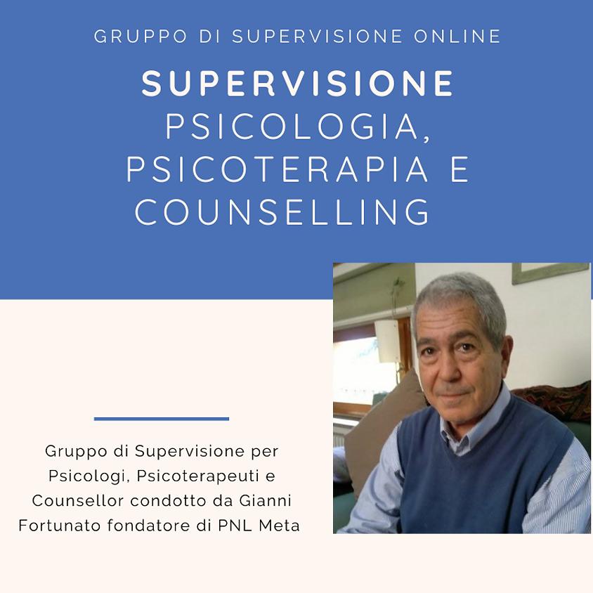 Supervisione Psicologia, Psicoterapia e Counselling
