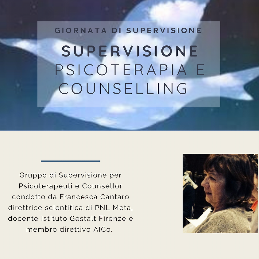 Supervisione Psicoterapia e Counselling