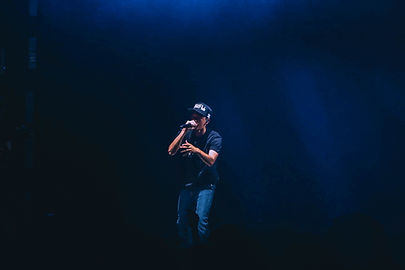 Rapper Performing