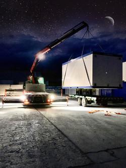 Container Corona Sicherheitsanlage