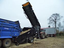 Maize loader unfolding