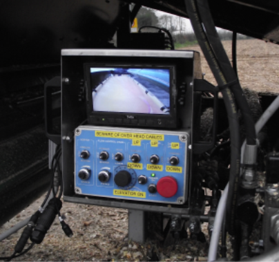 Maize camera control panel