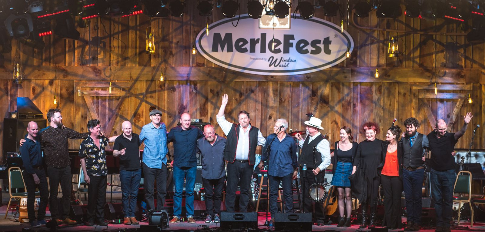 Transatlantic Sessions-Merlefest-James Taylor-Jerry Douglas-Daniel Kimbro-2017
