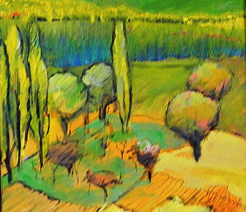 geel landschap 20x20 olie op doek_edited
