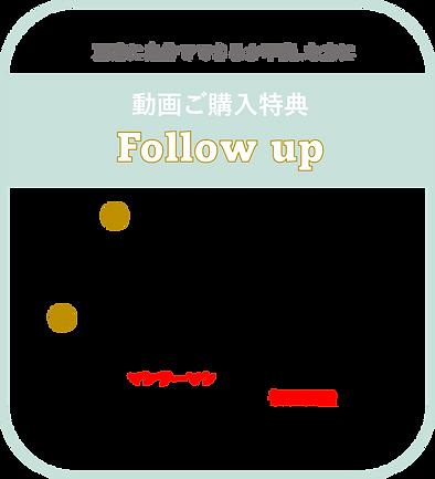 オンラインレッスン・動画フォローアップ