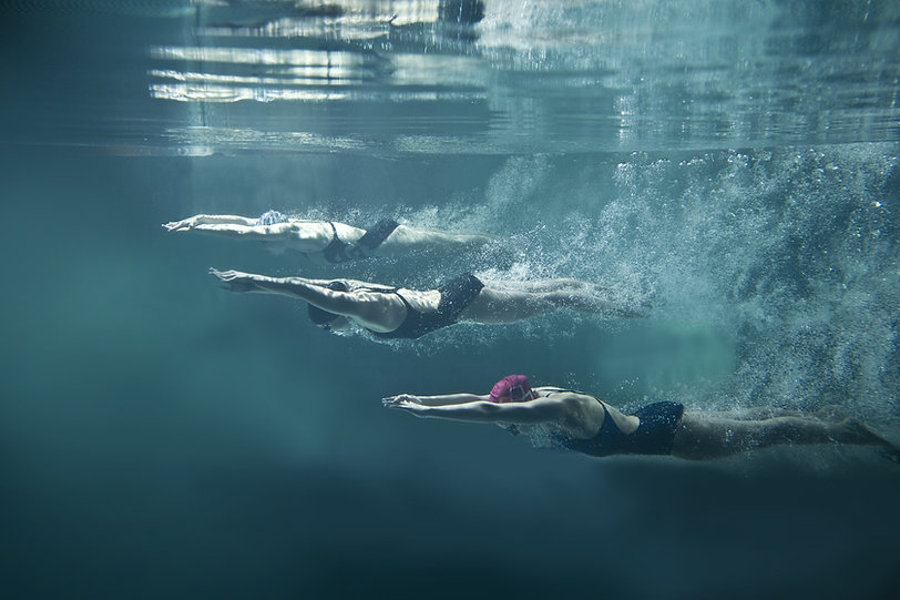 Women feeling confident swimming after conquering their incontinence