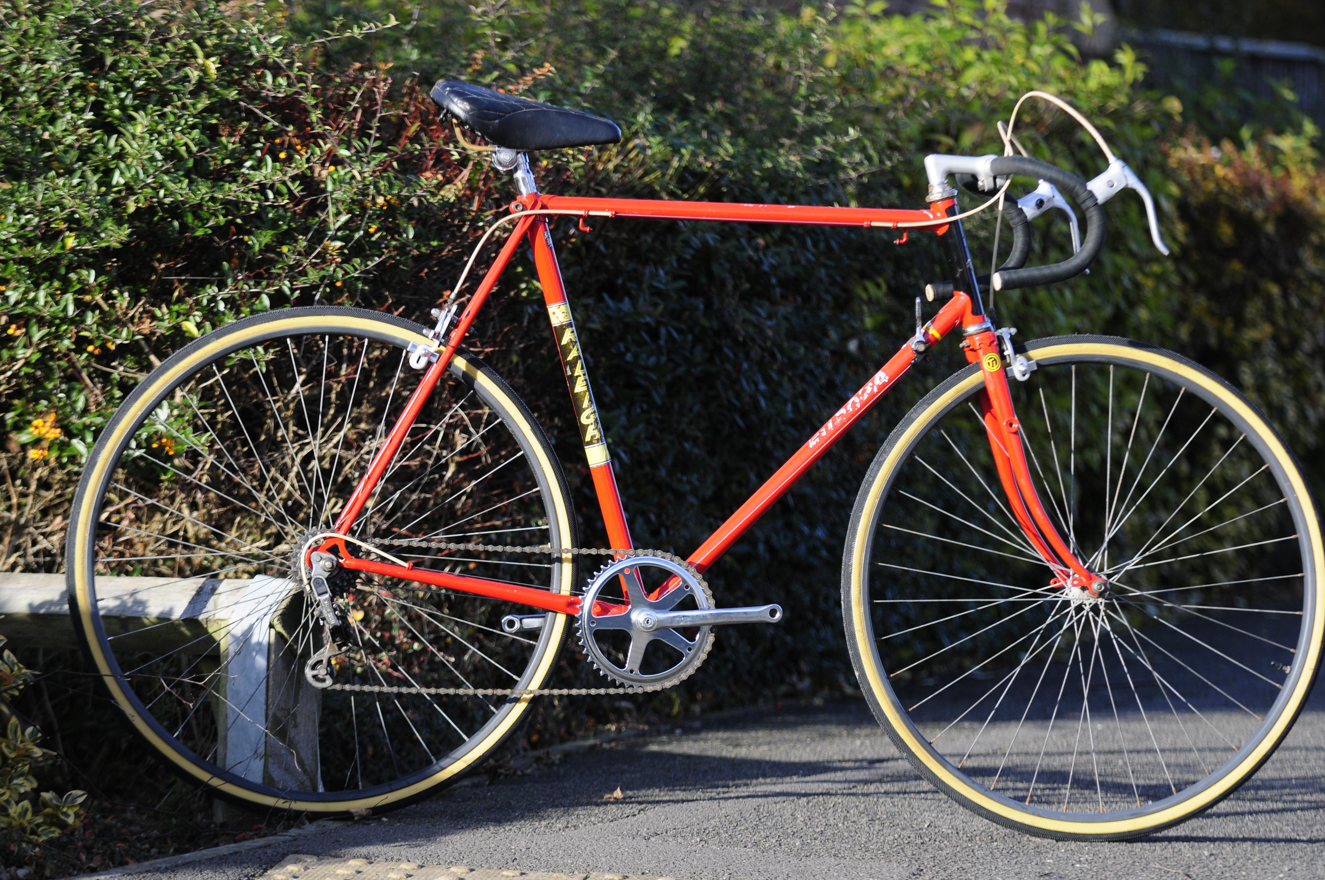 Raleigh Europa old bikes