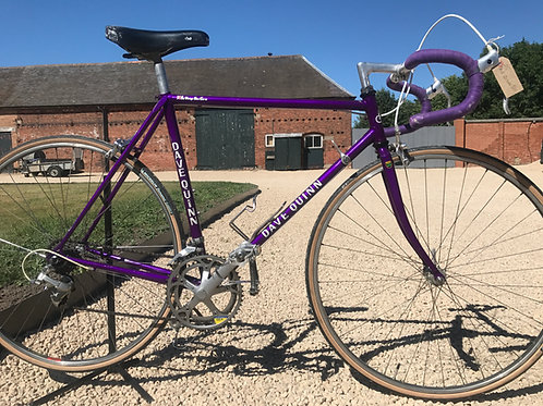 "21.5"" Vintage Dave Quinn Reynolds 531 Road Bike FEATURED IN ROAD.CC"
