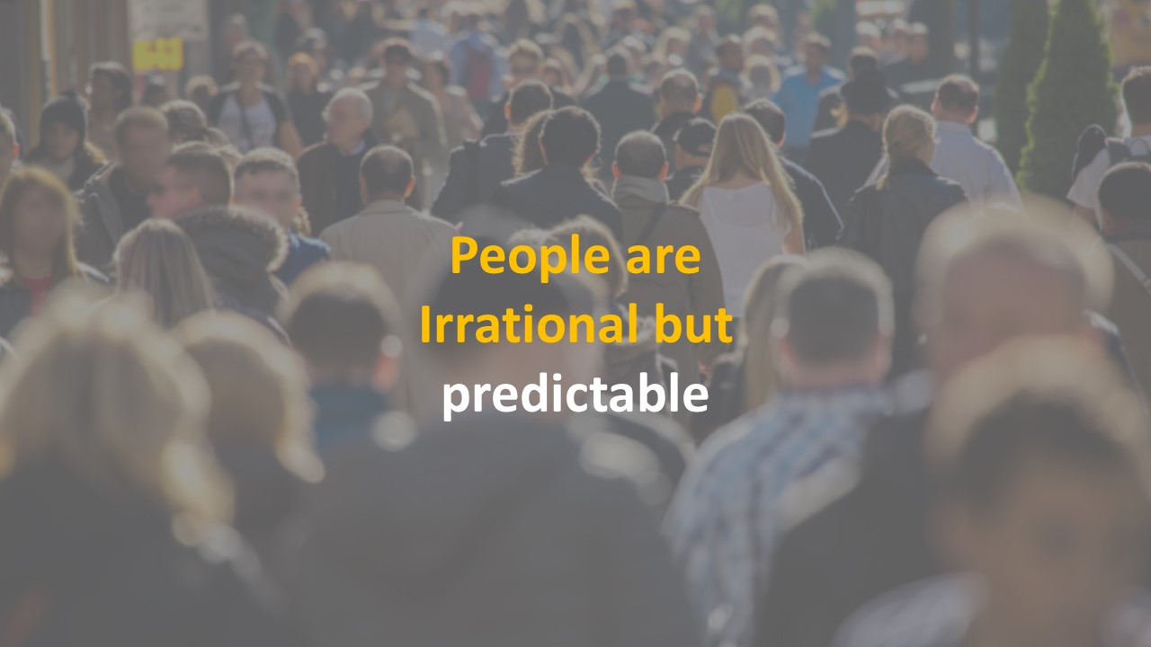 People are irrational but predictable -