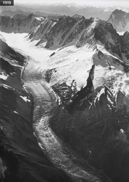 Glacier d'Argentière 1919